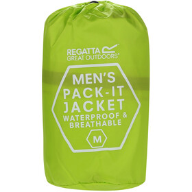 Regatta Pack It III Jas Heren geel